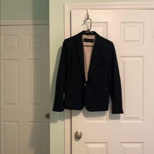 Zara dark blue wool blazer